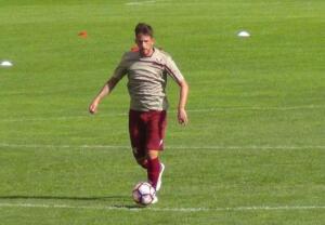 Aramu: esercizi con il pallone